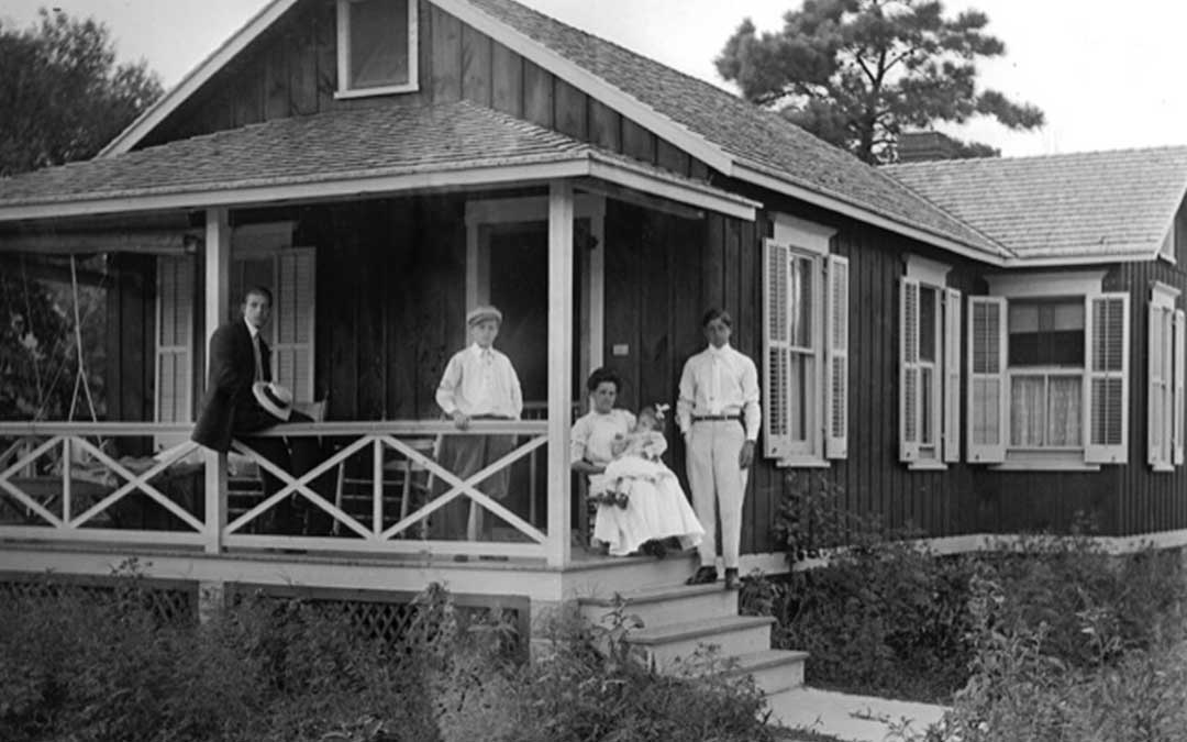 A Visual History: Congregating on the Front Porch