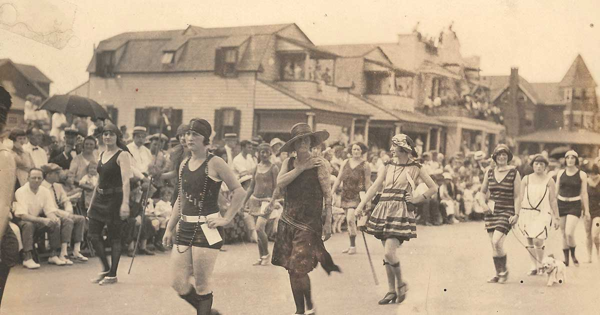 Bradley Beach - Labor Day in the Roaring 20s